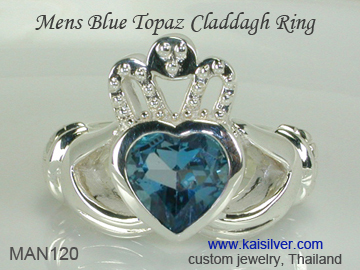 claddagh ring for men